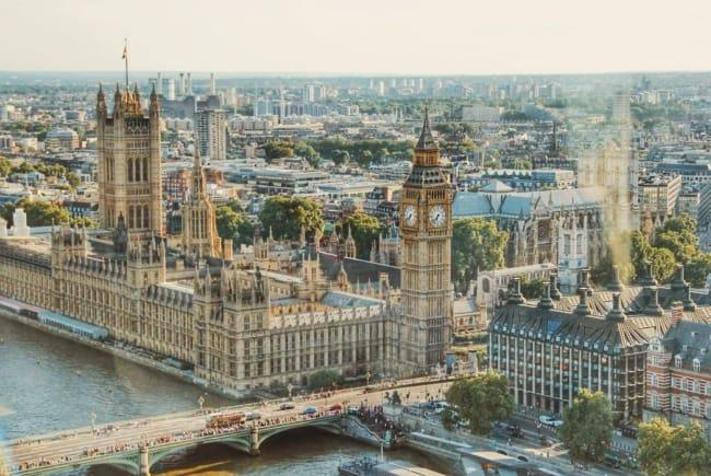 De Big Ben in Londen, Engeland   Populaire Engelse namen