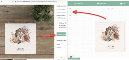 Online geboortekaartjes bestellen | Stap voor stap uitleg
