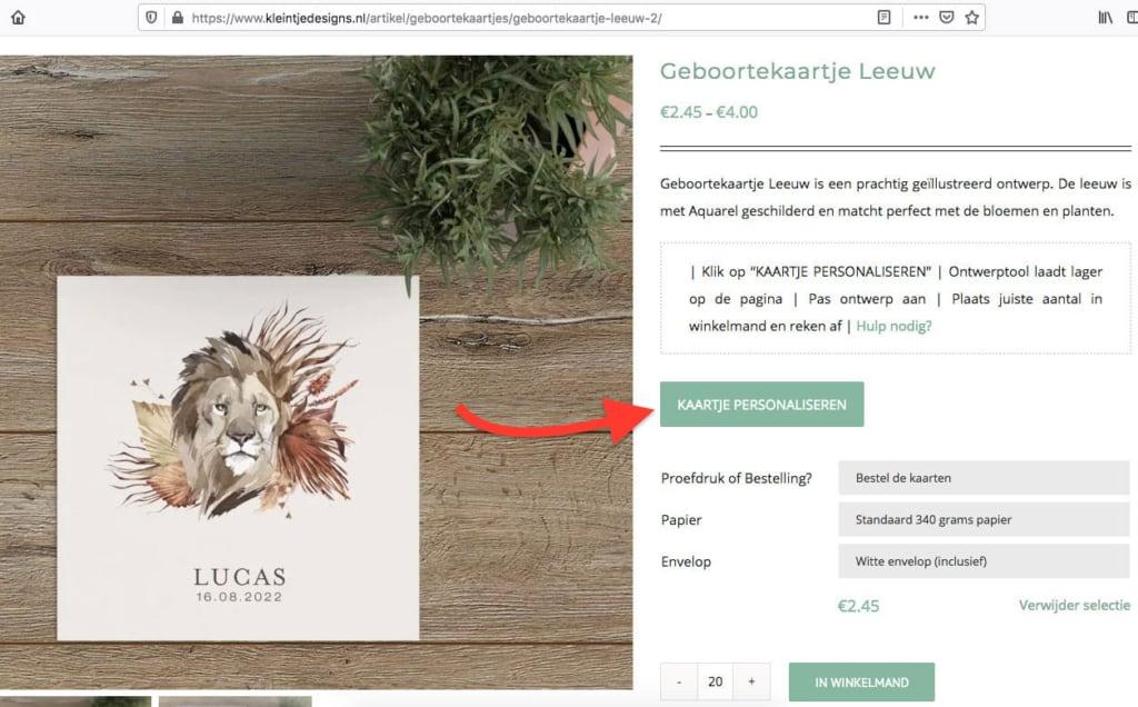 Online geboortekaartjes bestellen - hoe gaat dat in zijn werk? How-to.